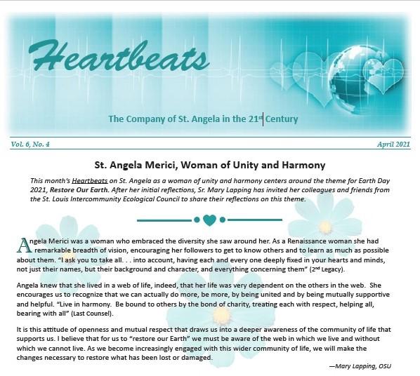Heartbeats April 2021