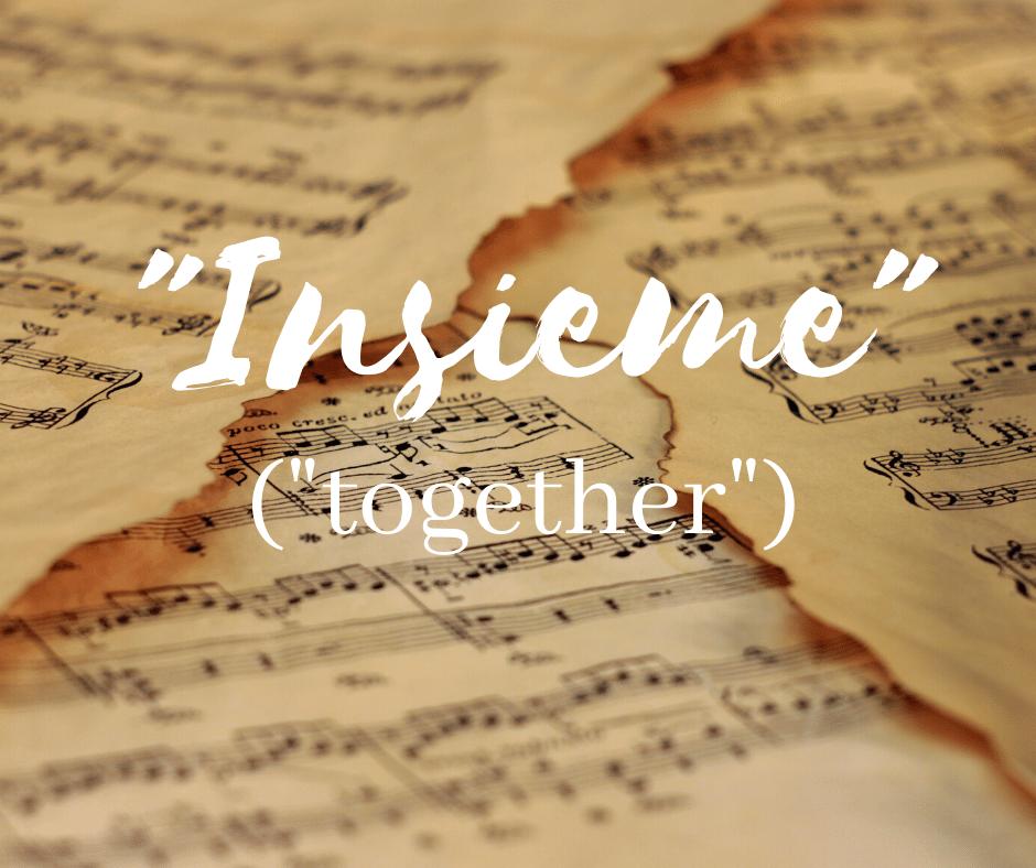 """Insieme"" (""Together"")"