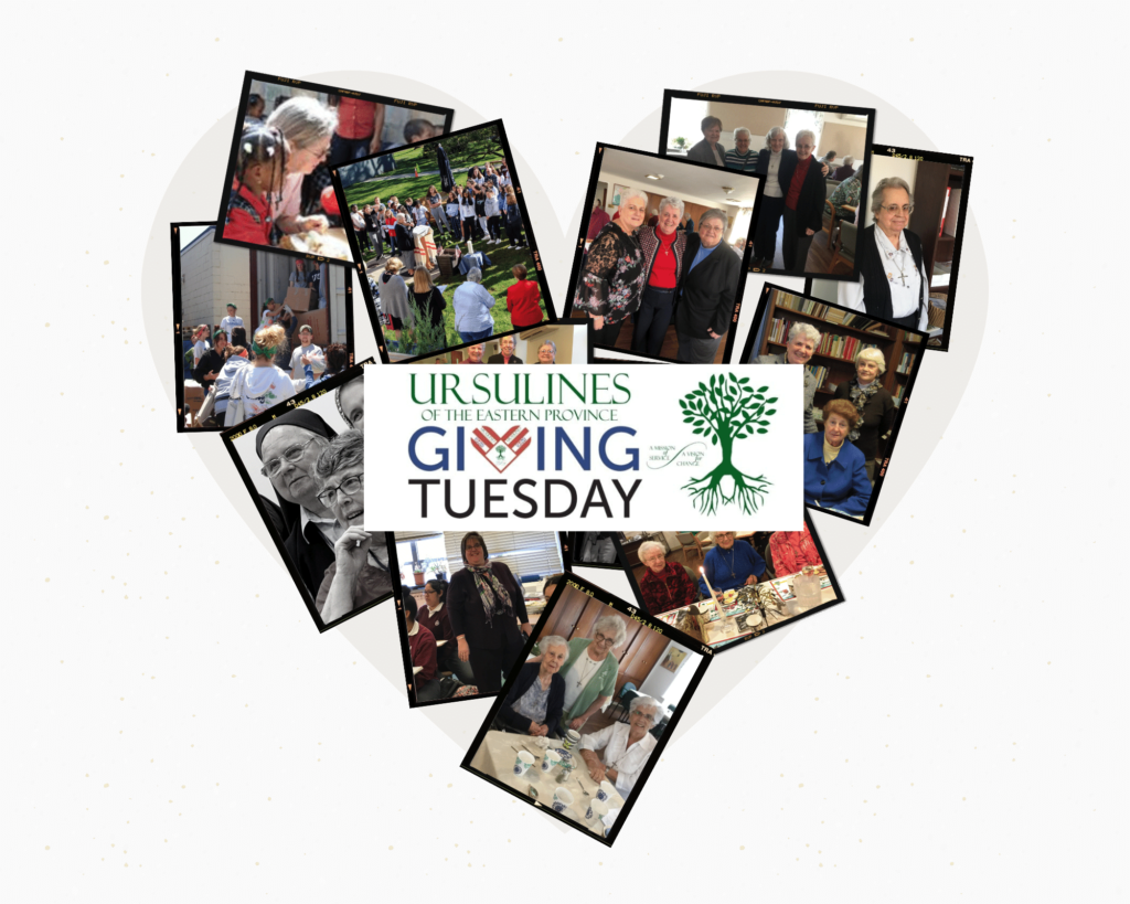 Ursulines Partake in 2nd Annual #GivingTuesday