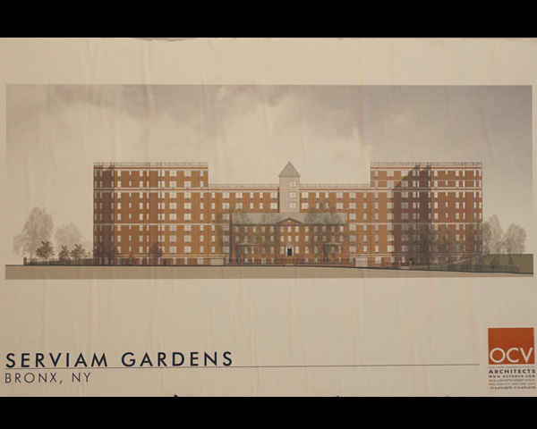 Serviam Gardens Sketch